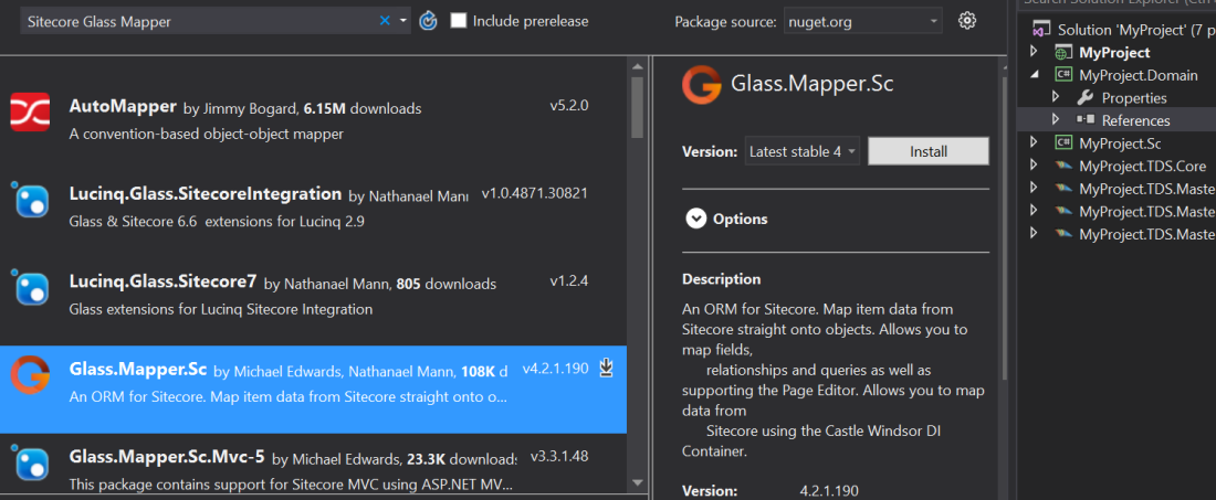 my-project-glass-ref-nuget