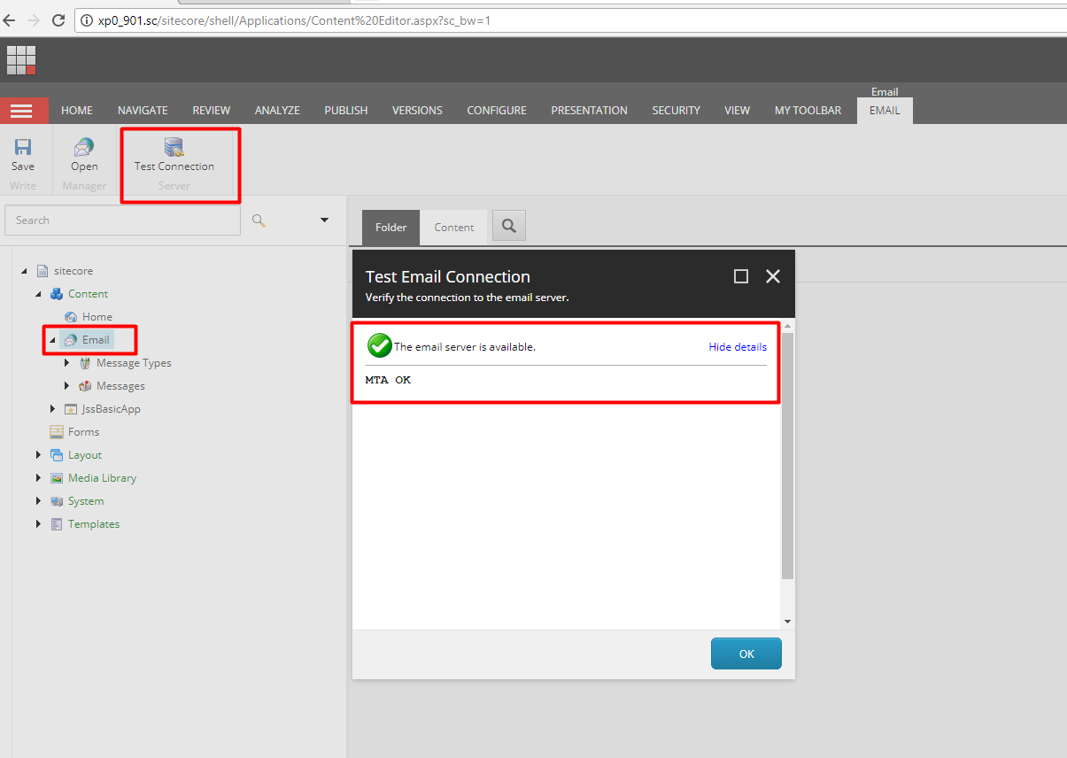 Sitecore Email Experience Manager – Getting started with EXM