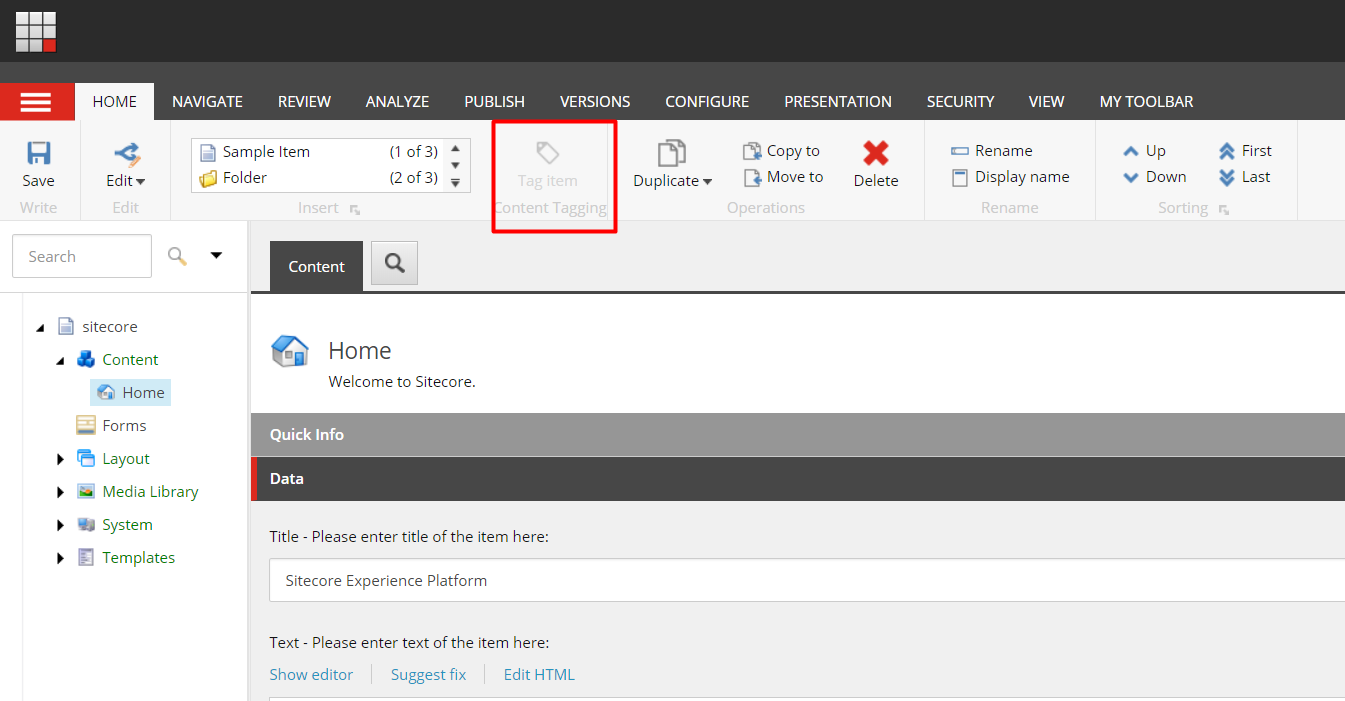Sitecore Cortex – Getting Started with Auto-Tagging using